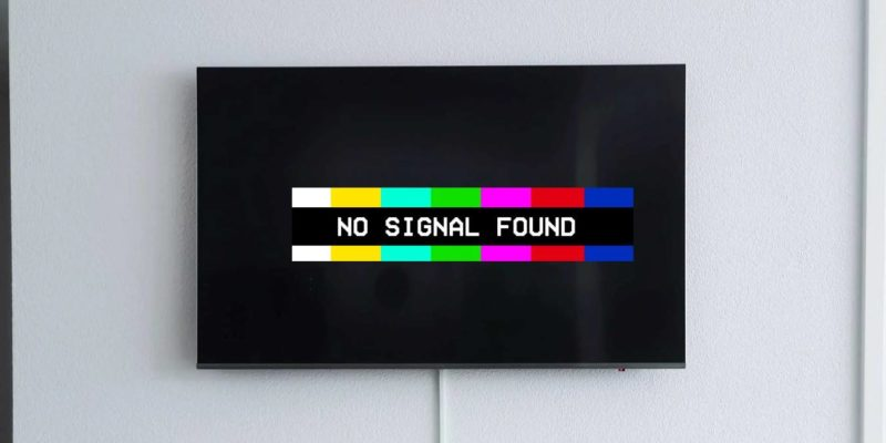 why-does-my-tv-say-no-signal