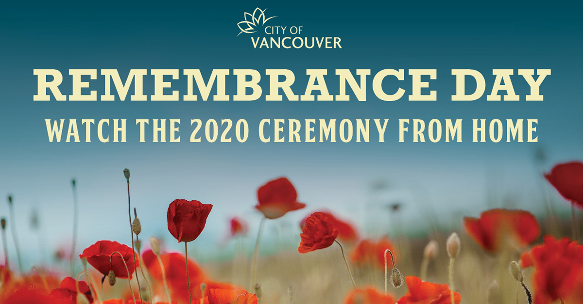 City reminding residents to Remember In Place on November 11